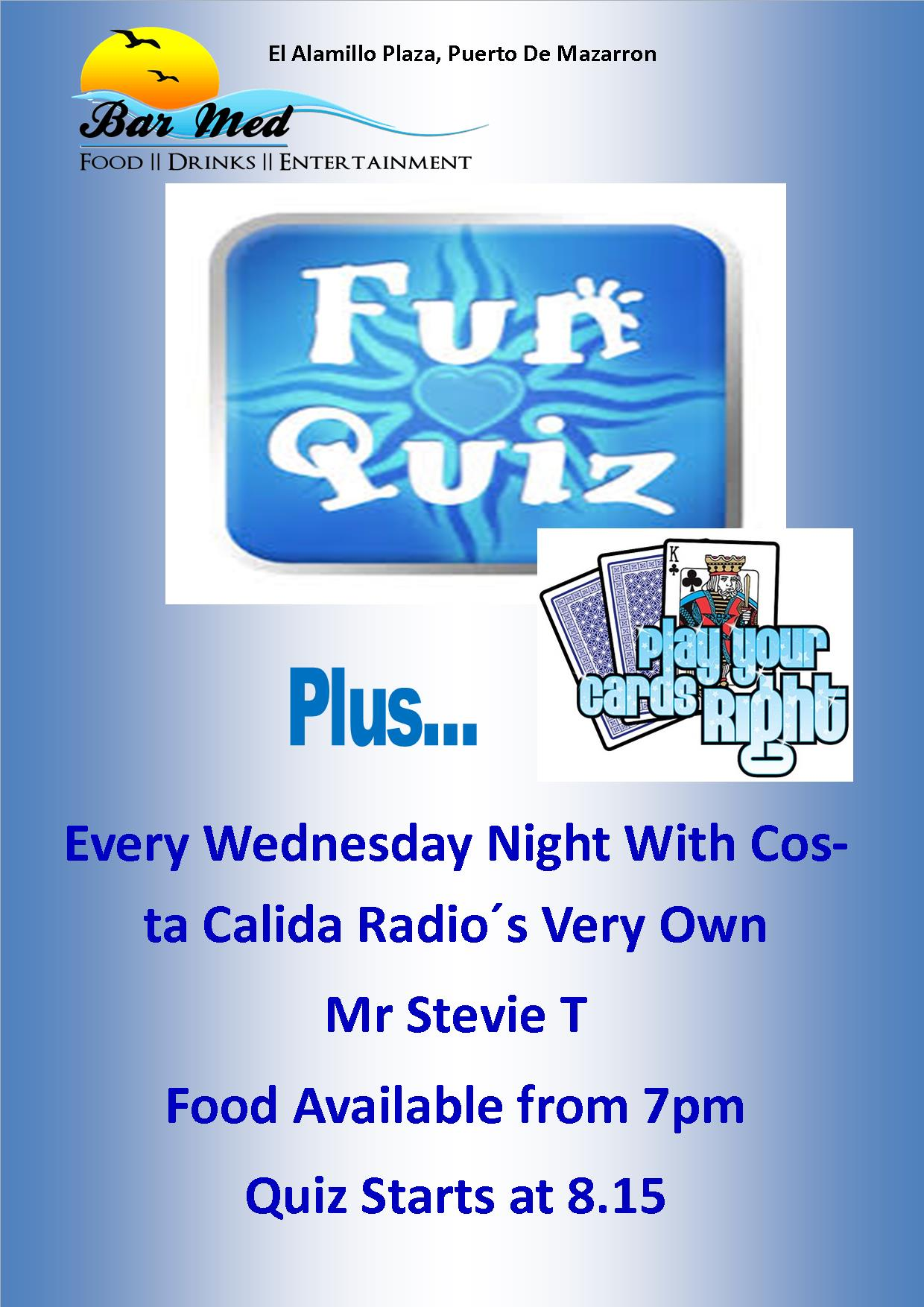 Wednesday Night Quiz