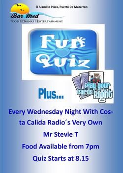 Wednesday Night Quiz