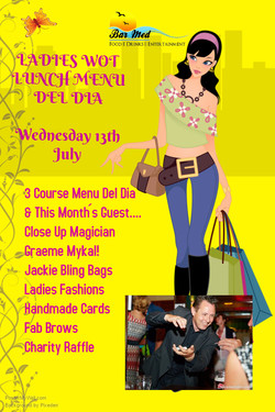 Ladies Wot Lunch July