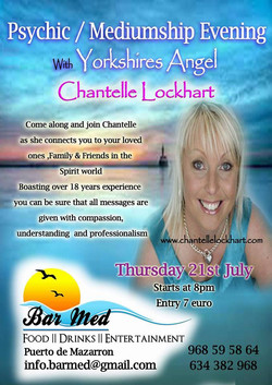Psychic Evening 21st July