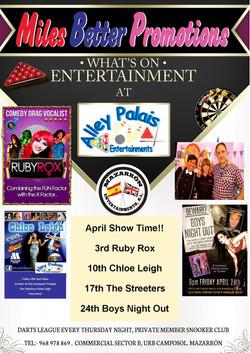 Alley Palais Show Time