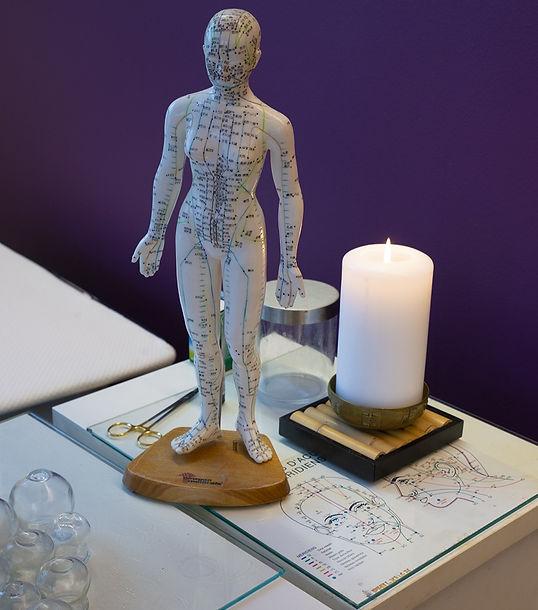 Acupression et acupuncture