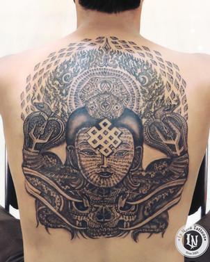 Shiva Back tattoo | La Nina Tattoos | Best tattoo studio in ahmedabad | Best tattoo artist | Gujarat | India | Tattoo | Tattoos | Tattoos Near Me | Female Tattoo Artist | Jagruti Parmar