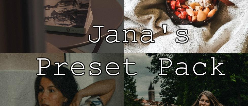 JANA'S PRESET PACK