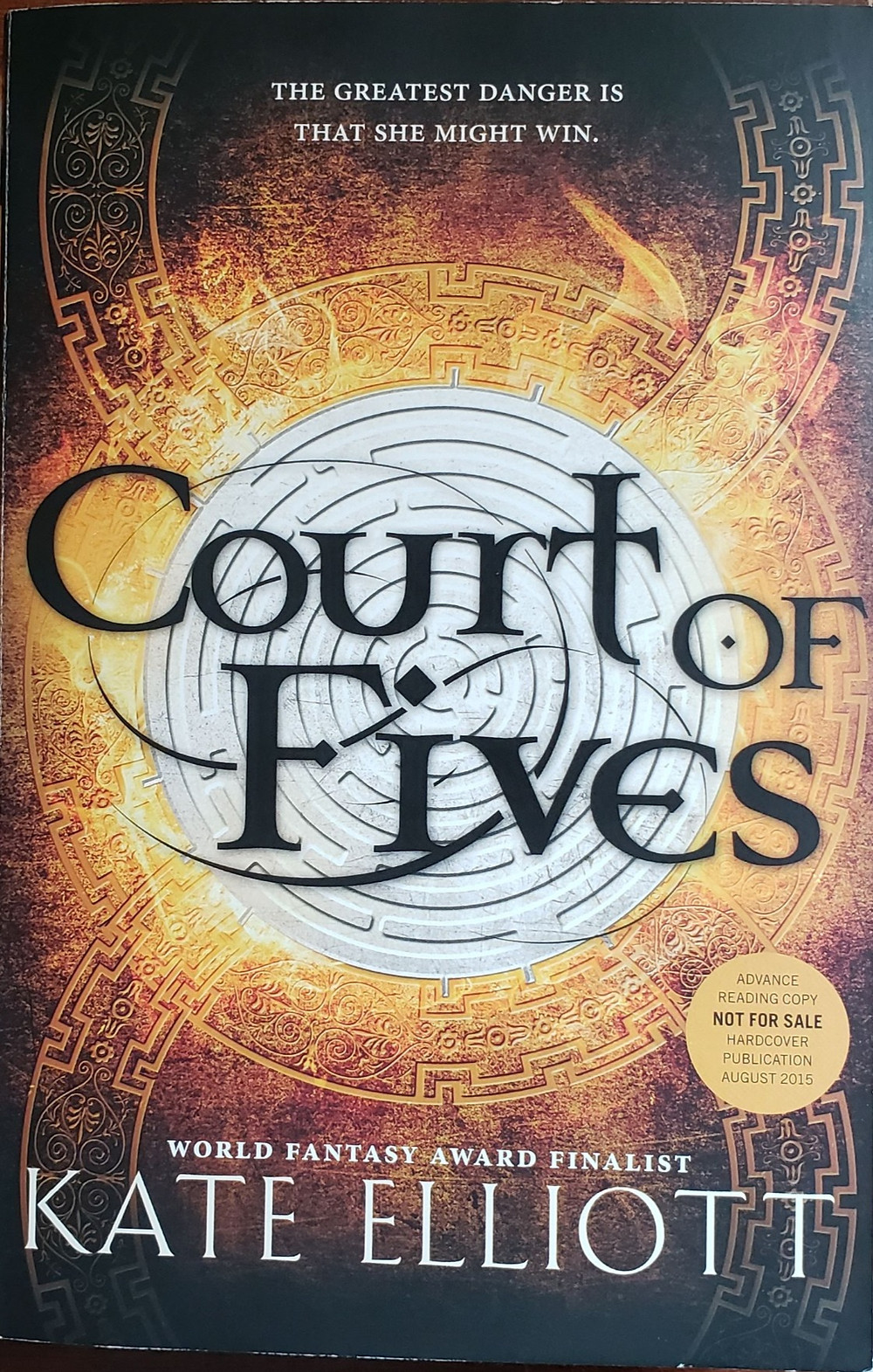 Front image of the book cover Court of Fives by Kate Elliott.