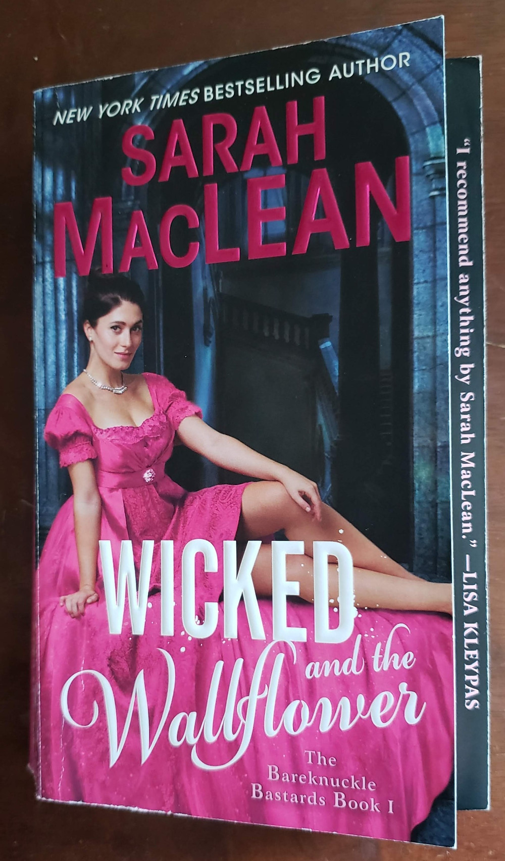 The front facing cover of the book Wicked and the Wallflower by Sarah MacLean.