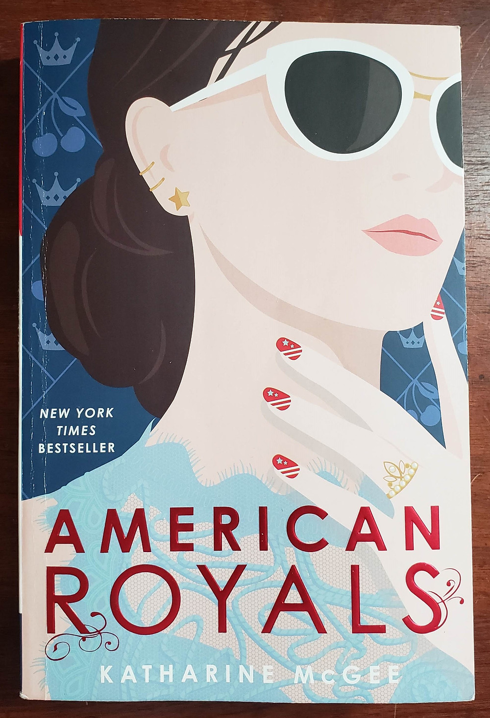Front image of the book cover for American Royals by Katharine McGee.