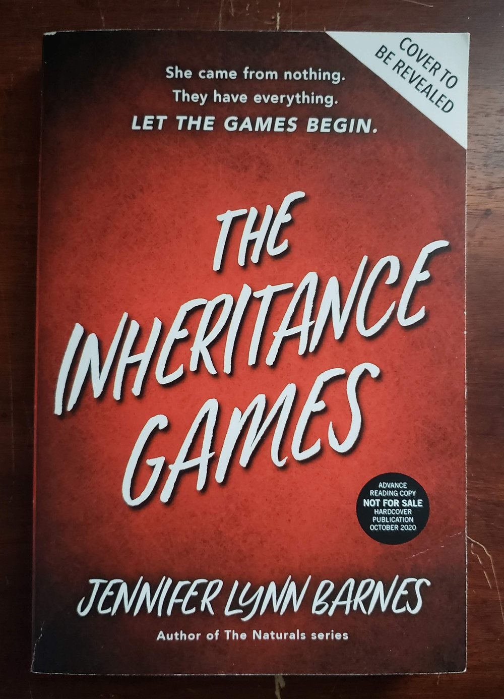 Front image of the book cover for The Inheritance Games by Jennifer Lynn Barnes.