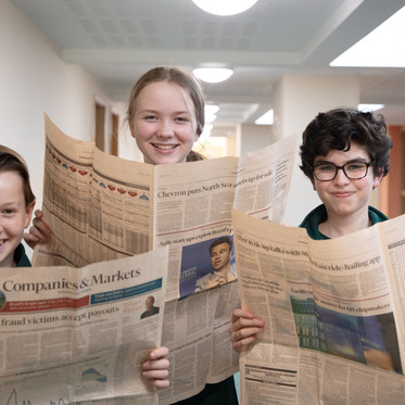 Embley students take on the City and enhance their financial literacy