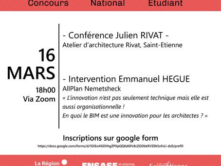 Conférence Concours National Etudiant 5è Edition 2021