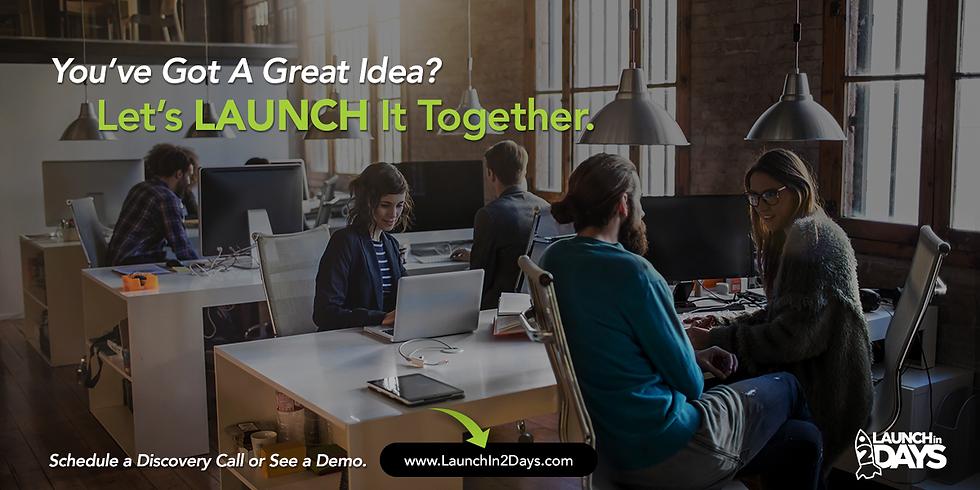 Launch Your Business April 27-28, 2018