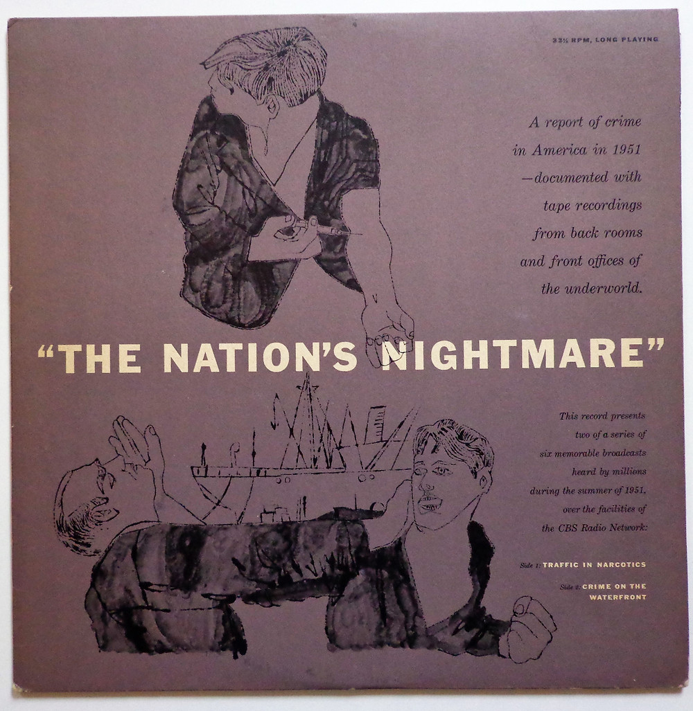 "The cover of ""The Nation's Nightmare""."
