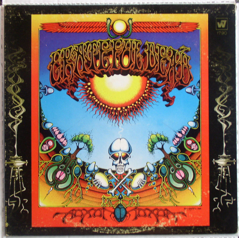 "The Grateful Dead's 1969 ""Aoxomoxoa"" cover by Rick Griffin."