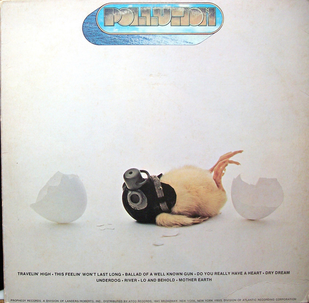 "Dean Torrence's Grammy winning design for Pollution's album ""Pollution""."