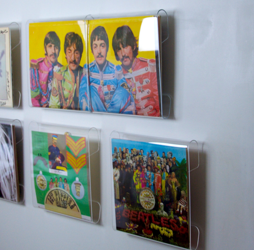 """Peter Blake and Jann Haworth won a Grammy for the cover of """"Sgt. Pepper's Lonely Hearts Club Band""""."""