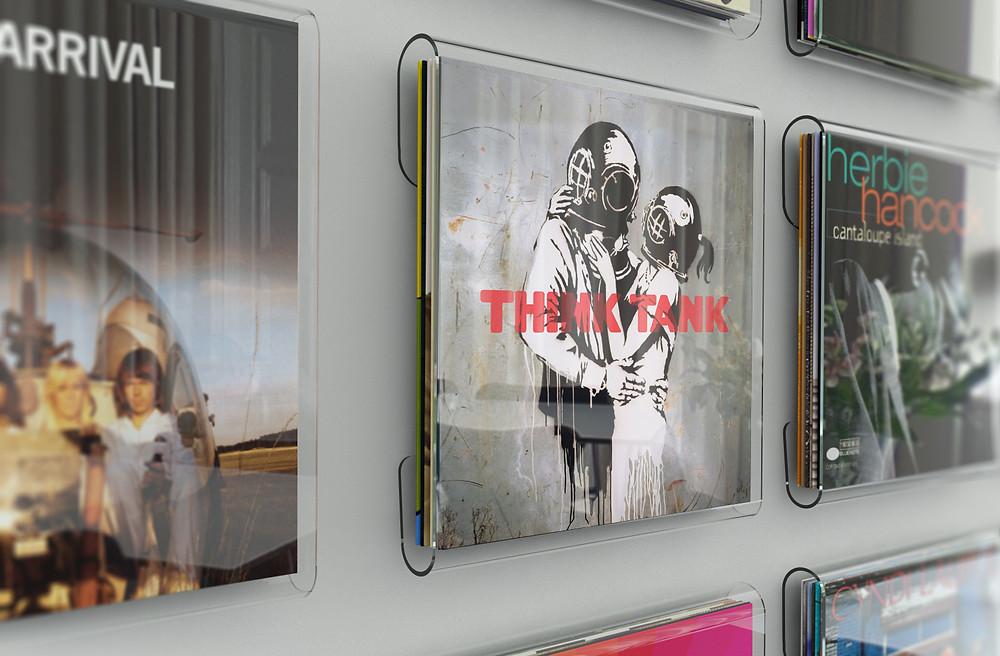 "Blur's seventh studio album ""Think Tank""."