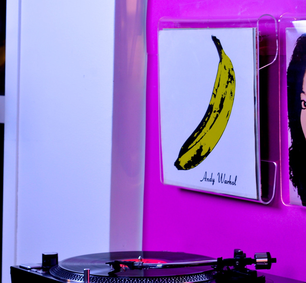 """The Velvet Underground & Nico"" album."