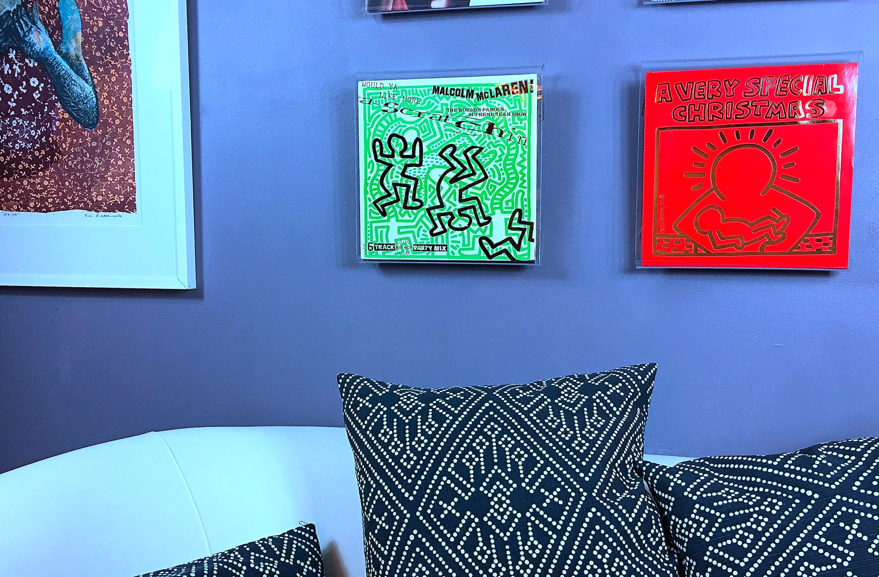 Keith Haring Christmas