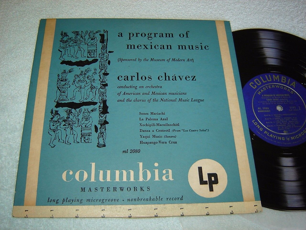 10-inch LP cover with Warhol's first cover illustration.