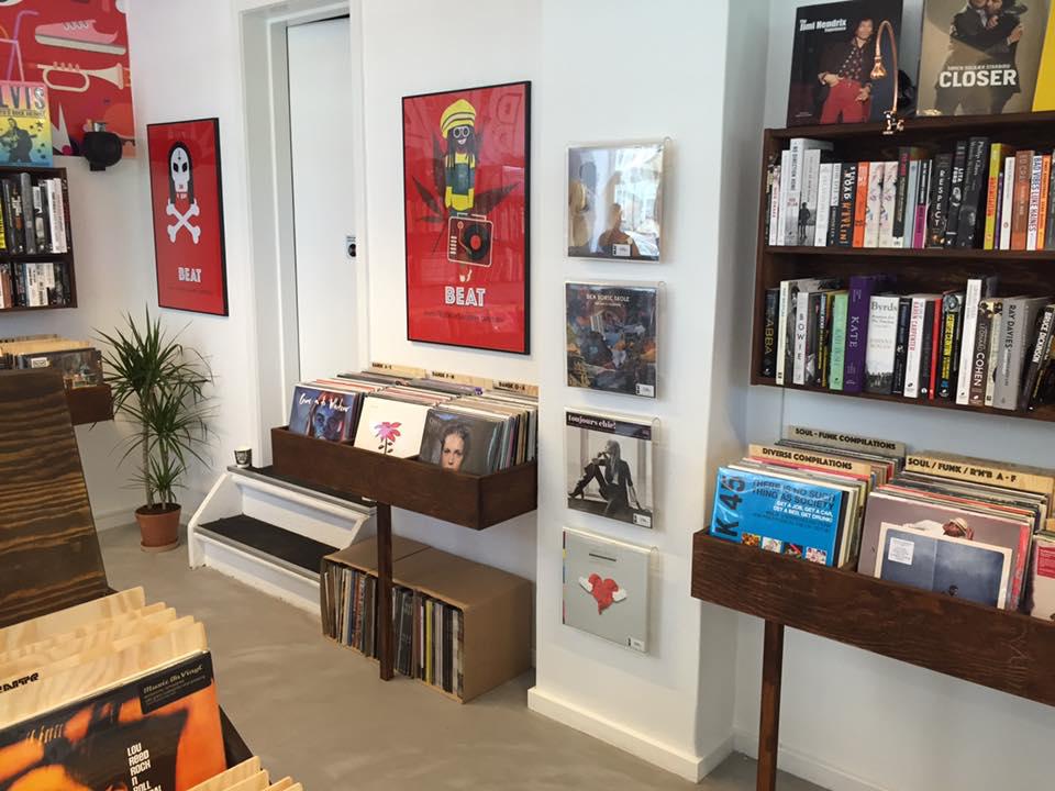 Beat record store Copenhagen
