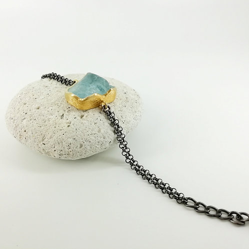Art bracelet Aquamarine
