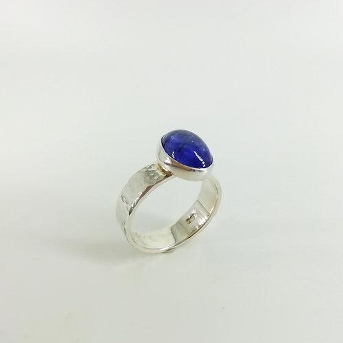 Silver ring with Gemstone Tanzanite