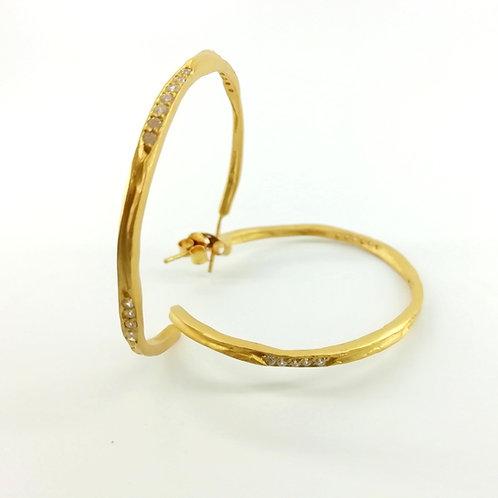 Earrings Goldplated