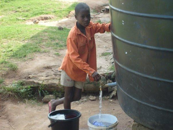 Well at Ghana orphanage