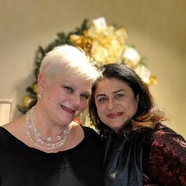 Cheryl and Dr. Shanidze