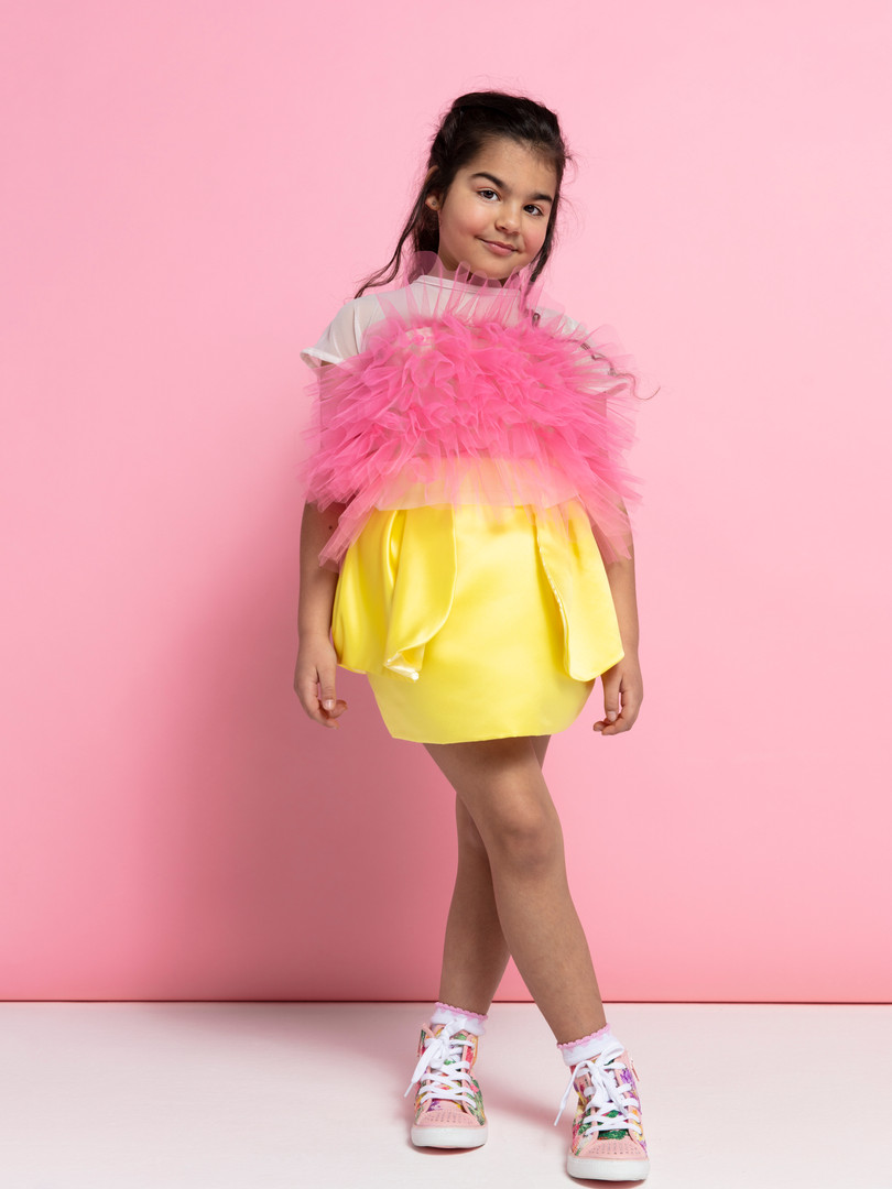 Luna top & Tulip skirt