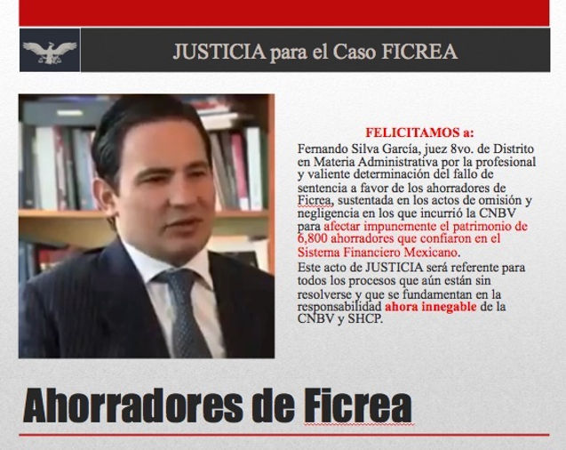 Justicia para el caso Ficrea