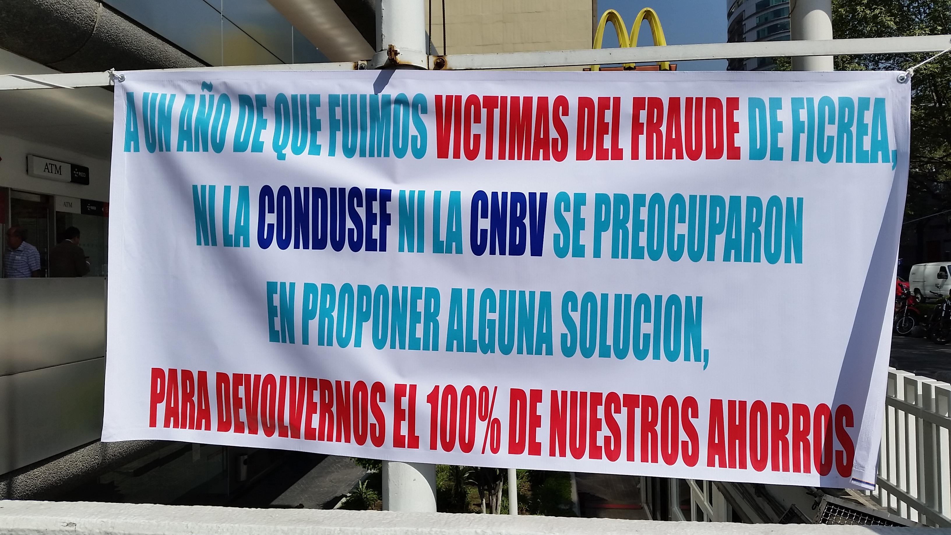 Ahorradores defraudados por Ficrea