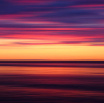 Sunset on the Strait of Juan De Fuca