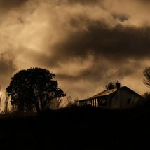 Storm brewing over Fort Worden