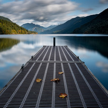 Fall at Lake Crescent