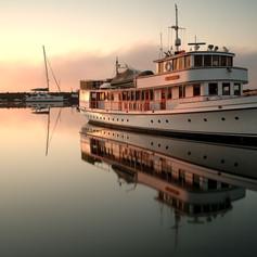 MV Malibu at Sunrise