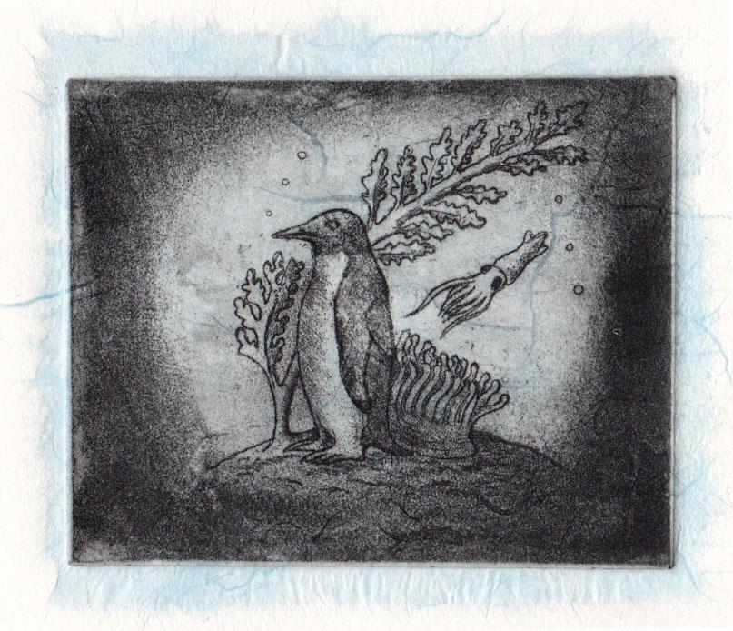 Penguin -blue