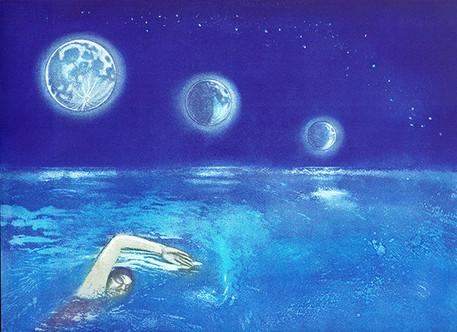 Lunar Swim