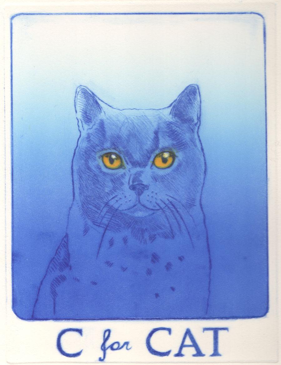 Theresa Pateman - C For Cat