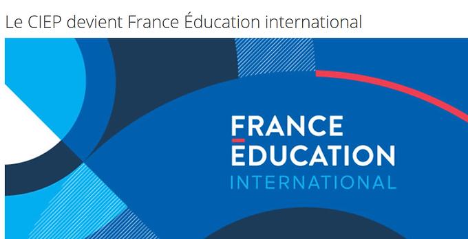 Le CIEP devient France Éducation International