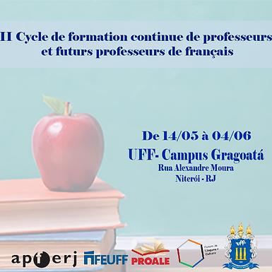 II Cycle de Formation de professeurs et futurs professeurs de français