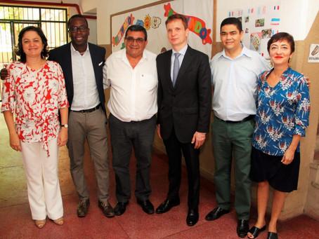 Cooperação entre a Embaixada da França e a Secretaria Municipal de Educação de São Gonçalo-RJ