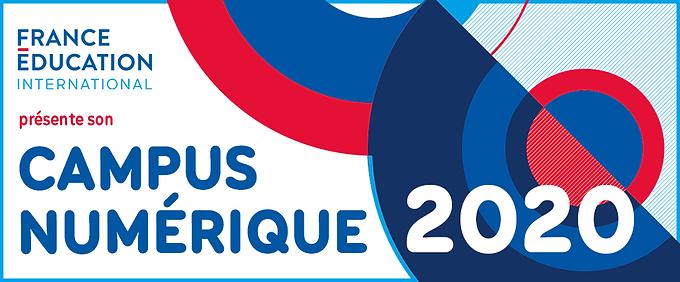 France Éducation International - Campus Numérique 2020