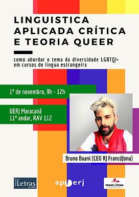 Formation Linguística Aplicada Crítica e Teoria queer: como abordar o tema da diversidade LGBTQI+ em cursos de língua estrangeira