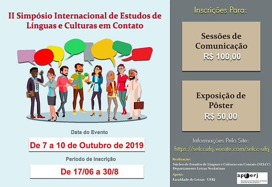 II Simpósio Internacional de Línguas e Culturas em Contato