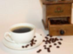 Kvalitets kaffe malet på gammeldags facon