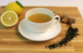 Green tea with lemon & ginger