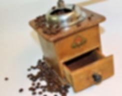 Gammeldags kaffemølle