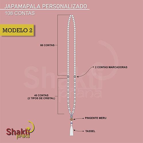Japamala Personalizado 2 ( 6 mm)