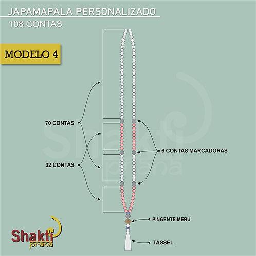 Japamala Personalizado 4 ( 6 mm)